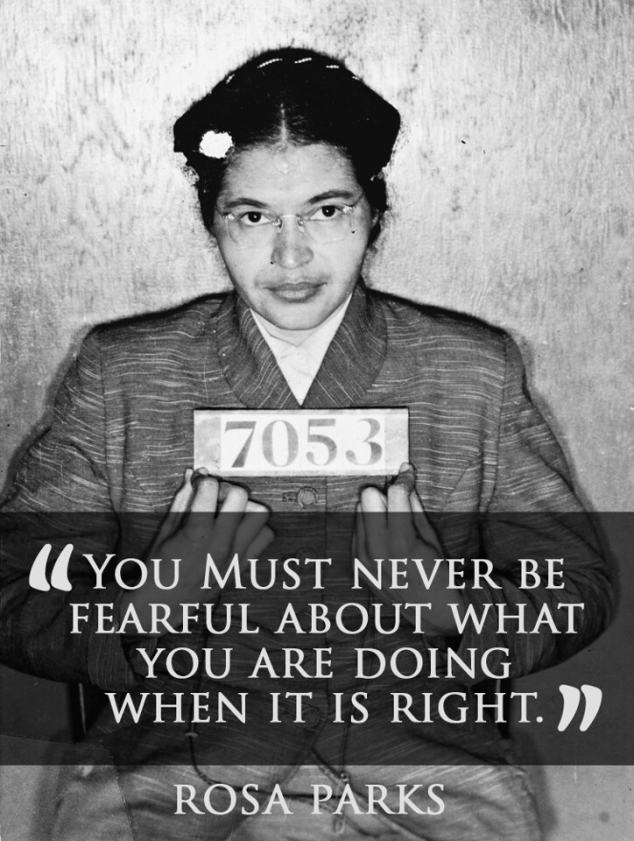 Rosa Parks Quote FaveThing Impressive Rosa Parks Quotes