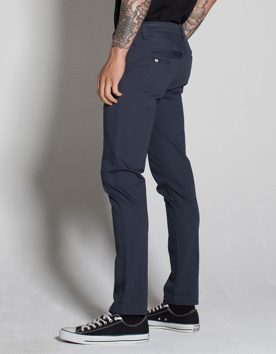 RSQ London Mens Skinny Stretch Chino Pants - Image 3