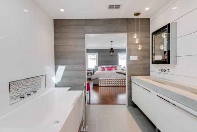 Rustic Yet Modern Bathroom
