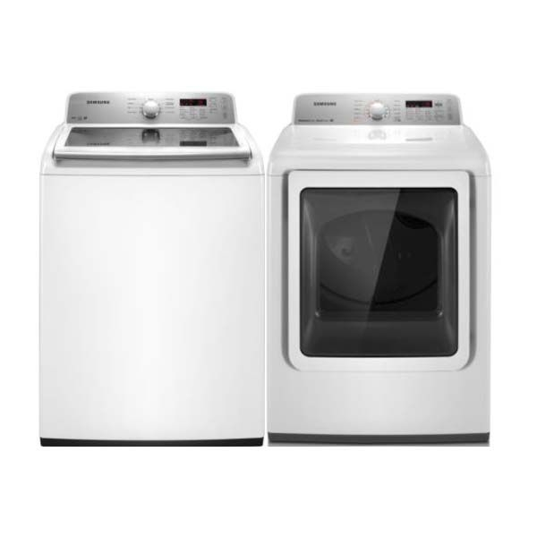 Samsung High-Efficiency Top-Load Washer and Dryer