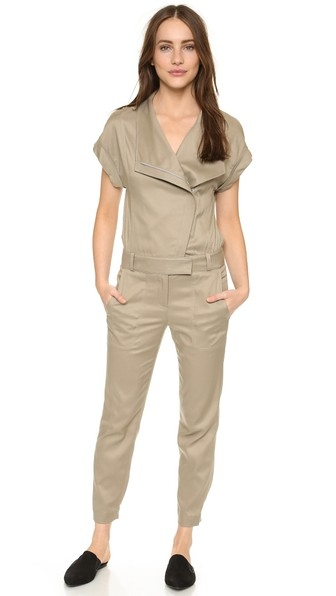 Scuba Neck Jumpsuit