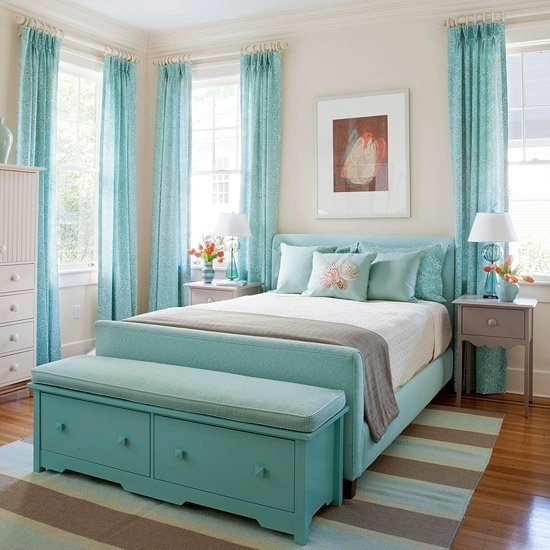 Sea Inspired Bedroom Design