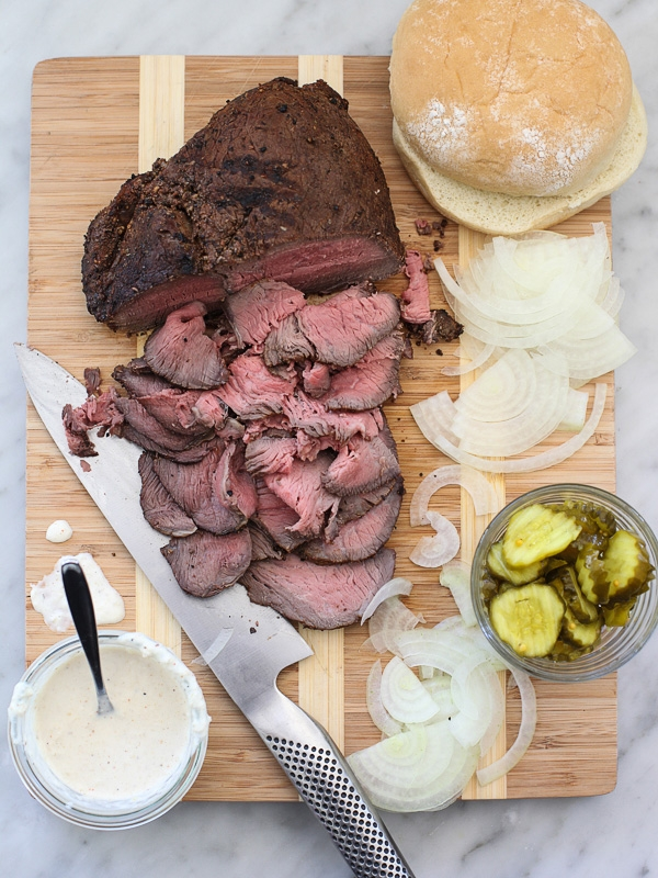Sirloin Steak Sandwiches with Horseradish Sauce - Image 2