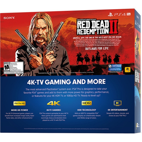 Sony Red Dead Redemption 2 PlayStation 4 Pro Bundle - Image 2