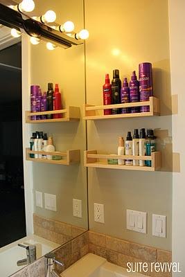 Lovely Spice Rack Into A Bathroom Organizer