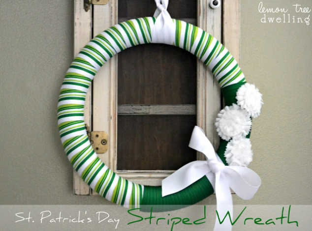 St Patrick's Day wreath - Image 2
