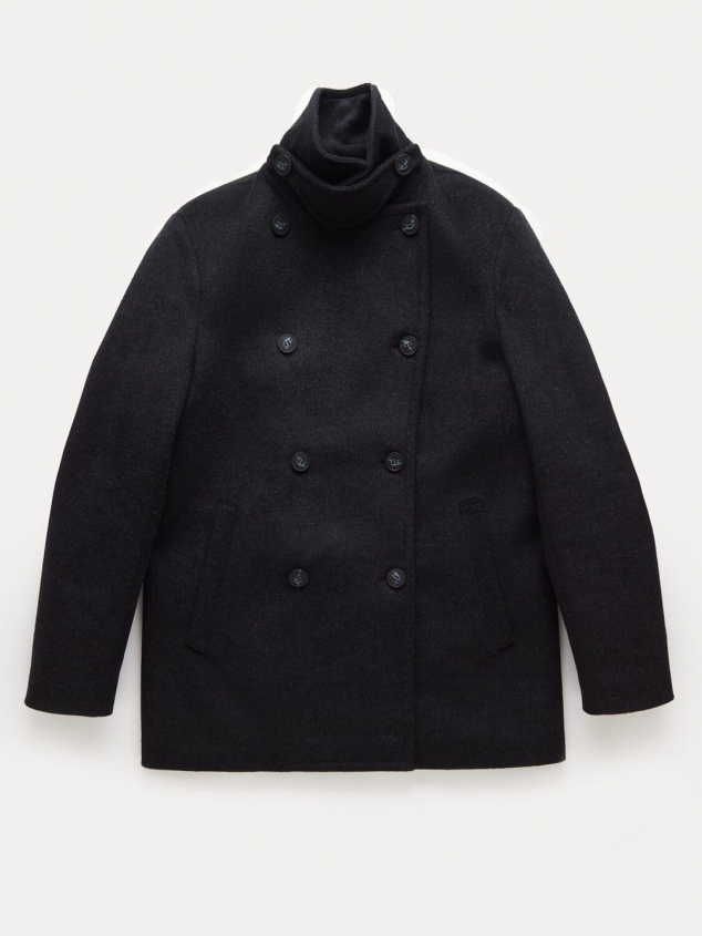 Stewart StormLux Wool Cashmere Peacoat - Image 2