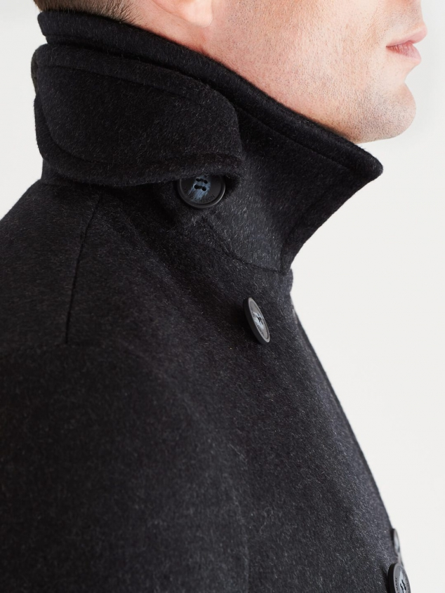 Stewart StormLux Wool Cashmere Peacoat - Image 3