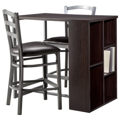 Storage Bar with Stools