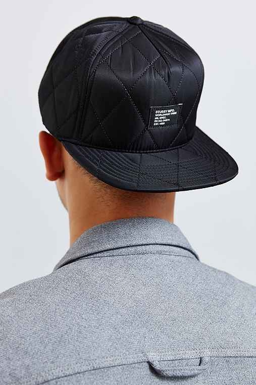Stussy Quilted Foam Snapback Hat