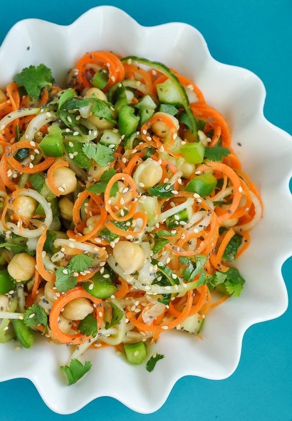 Sweet and Sour Thai Cucumber Pasta Salad - Image 2