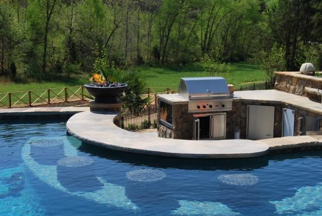 Home Pool Bar