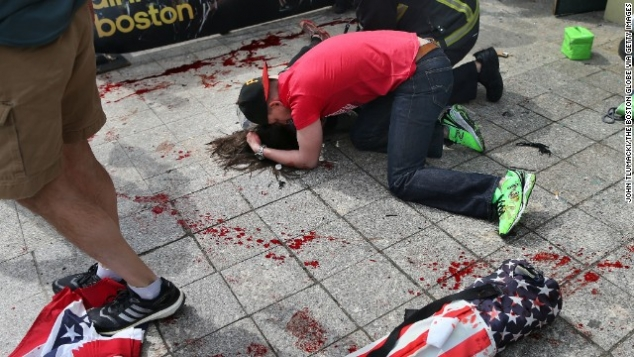 Terror at Boston Marathon: 3 dead, 154 wounded