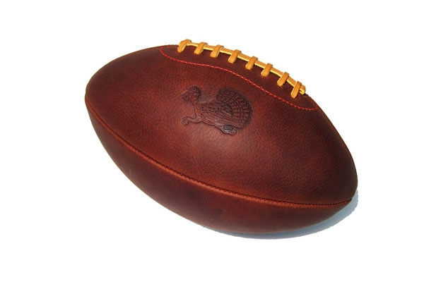 Thanksgiving Turkey Leather Head Football