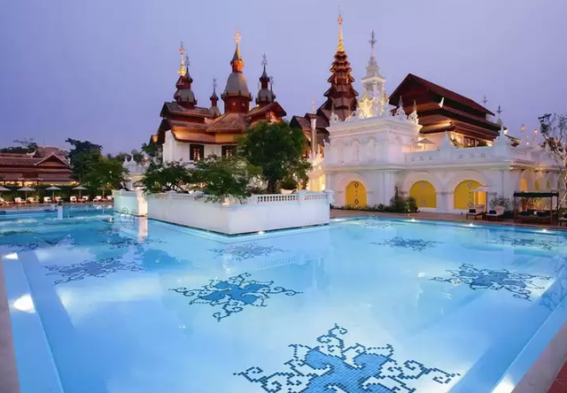 The Dhara Dhevi luxury resort in Chiang Mai, Thailand