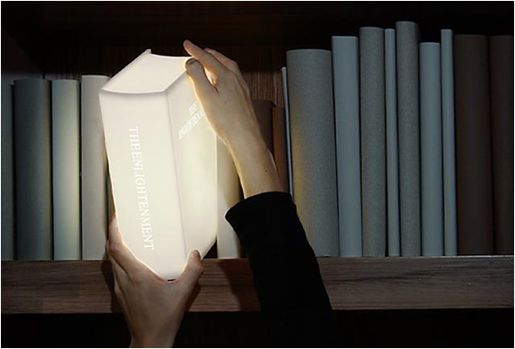 The Emlightenment Book Lamp