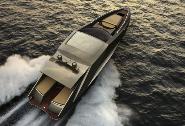 The Lamborghini Yacht By Mauro Lecchi