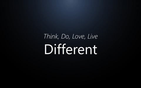 Think, Do, Love, Live Different