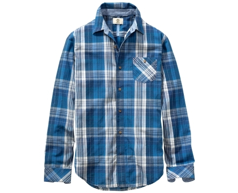Timberland Men's Allendale River Indigo Plaid Shirt