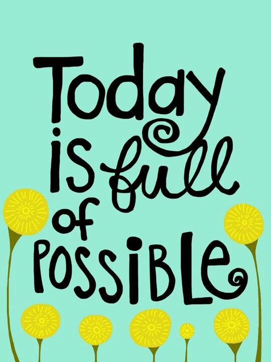 Today is Full of Possible - Poster