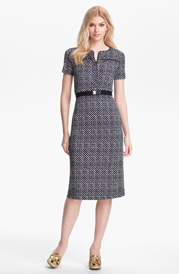 Tory Burch  'Peggy' Silk Midi Dress