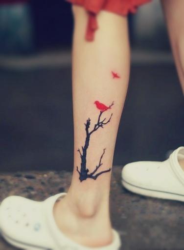 Tree Amp Bird Tattoo Favething Com