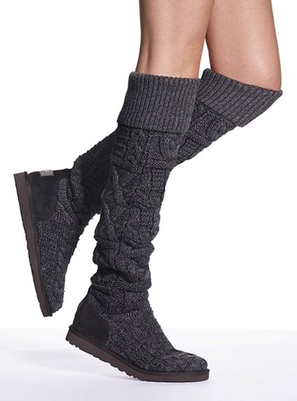 Ugg Over The Knee Twisted Cable Boot Favething Com