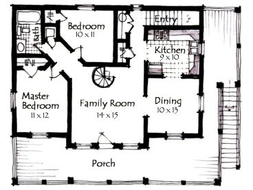 open rustic house plans. open. home plan and house design ideas