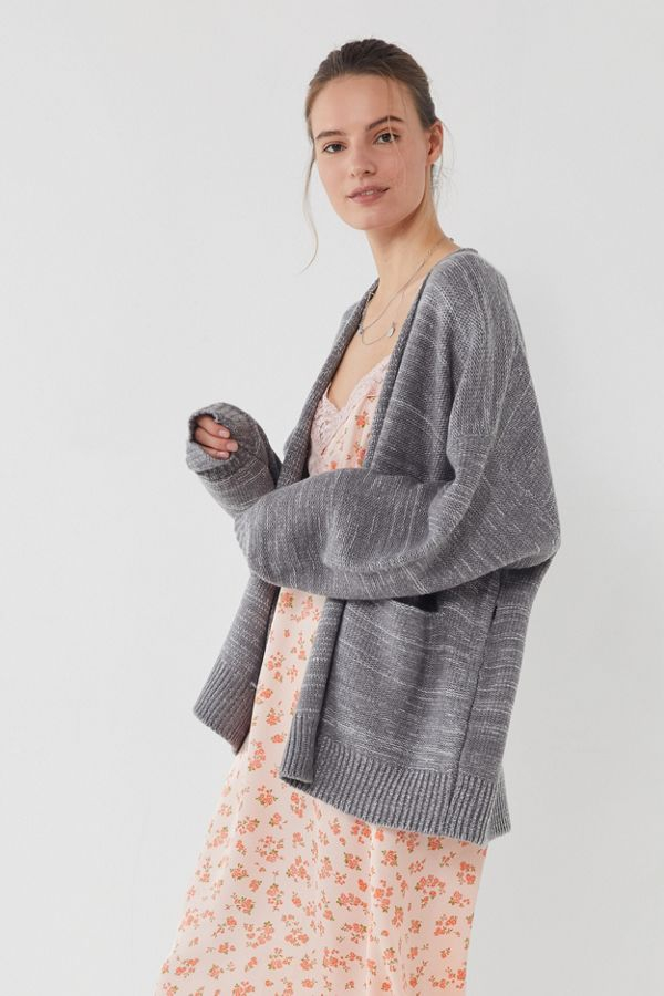 UO Colie Oversized Open-Front Cardigan - Image 2