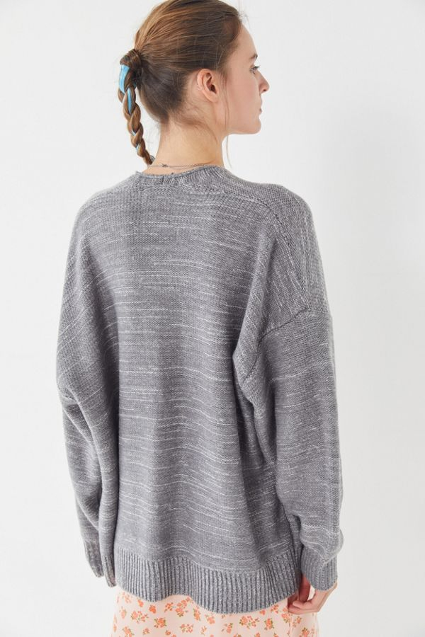 UO Colie Oversized Open-Front Cardigan - Image 3