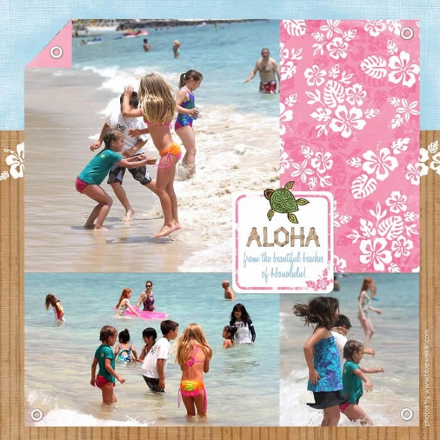 Vacation Scrapbook Favething