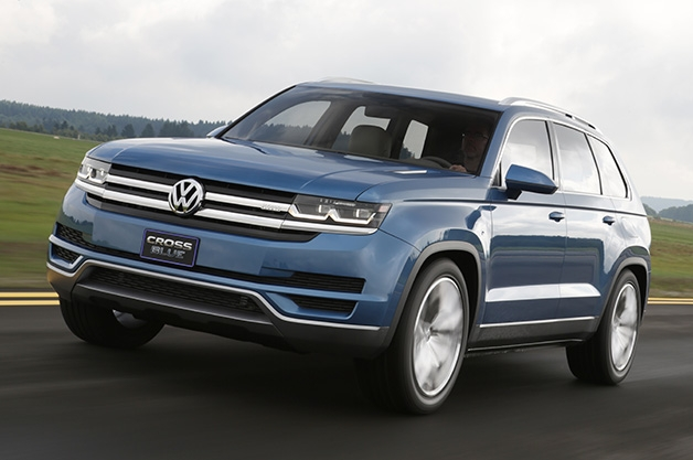 VW 2013 CrossBlue SUV concept FaveThing