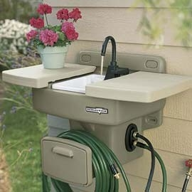 Water Station Plus Outdoor Sink - FaveThing.com on Patio Sink Station id=28377