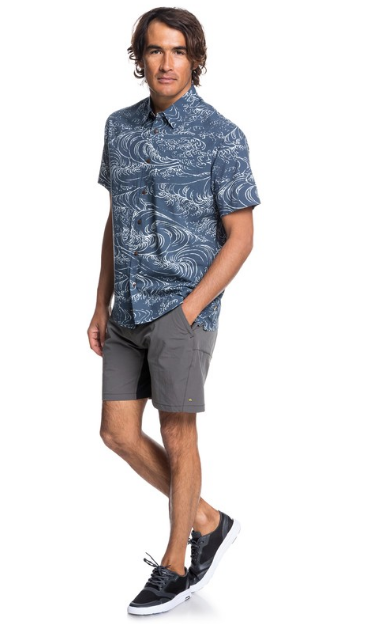 Waterman Wind And Waves Short Sleeve Shirt - Image 2