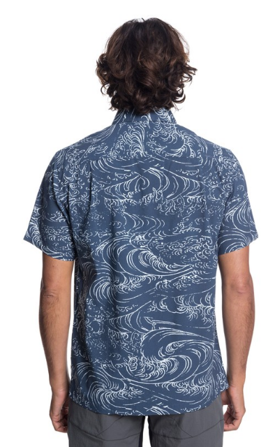 Waterman Wind And Waves Short Sleeve Shirt - Image 3