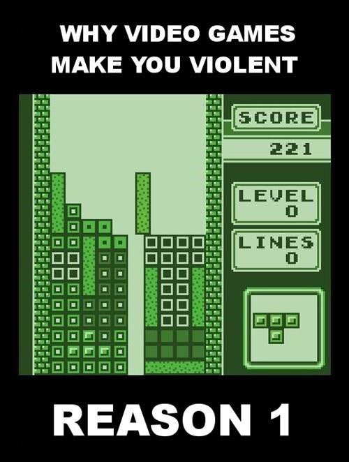 Why video games make you violent
