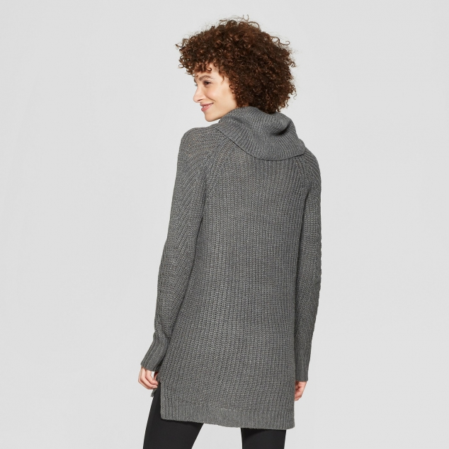 Women's Cozy Neck Pullover - Image 2