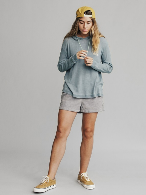 Women's Long Sleeve Hooded Top - Image 3