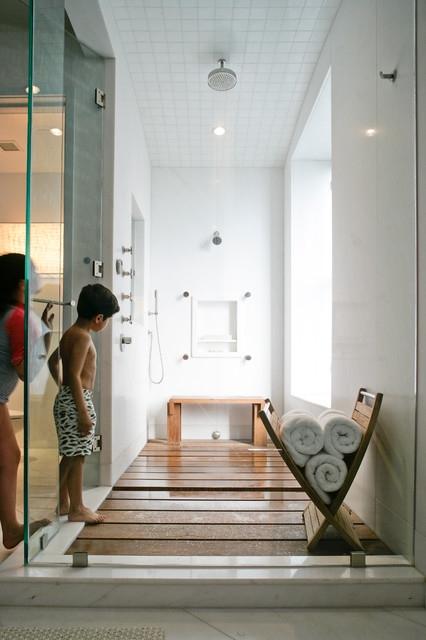 Wood shower floor - Wood Shower Floor - FaveThing.com