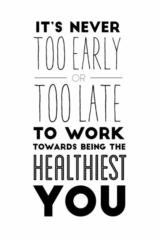 Work Towards Being The Healthiest You