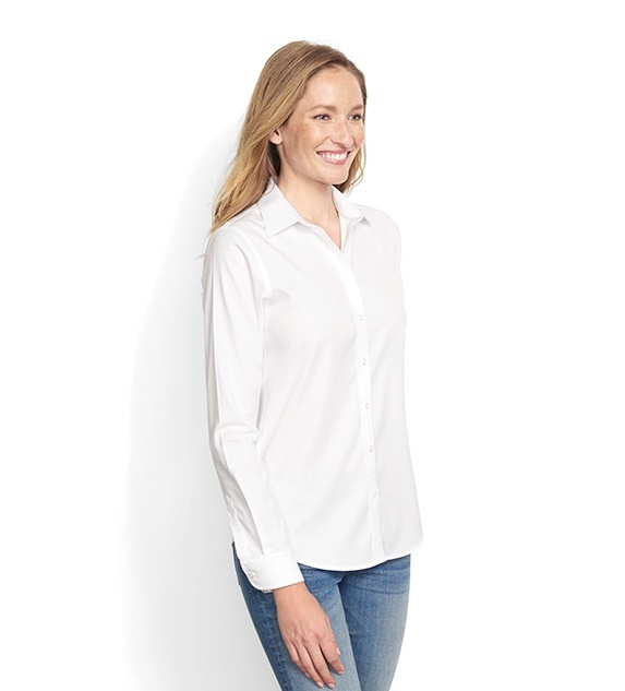 Wrinkle-Free Cotton Pinpoint Oxford Shirt