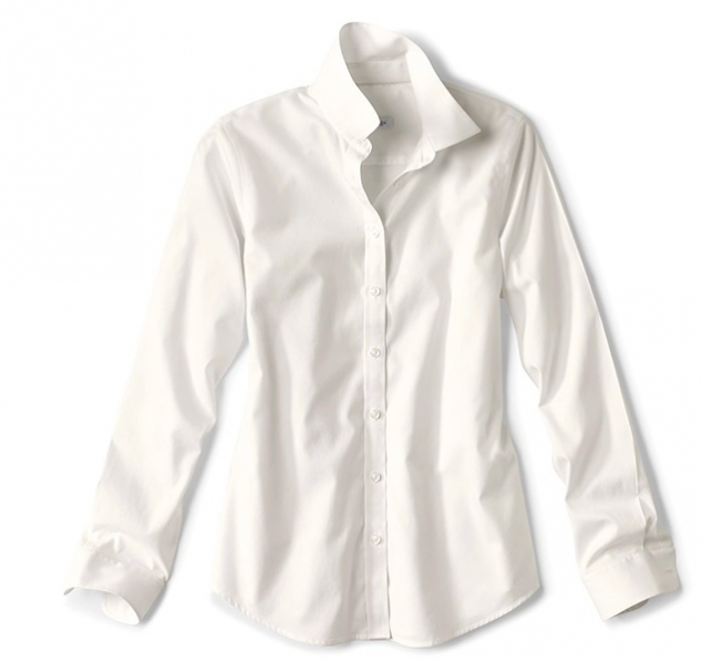 Wrinkle-Free Cotton Pinpoint Oxford Shirt - Image 3