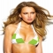 Allure Lime Triangle Bikini Top by Sauvage Sport - Swimsuits