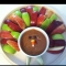 Apple slices and Dip Turkey - Decor for Thanksgiving