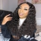 Ashimary Jerry curly affordable lace front wigs human hair pre plucked with baby hair - Fave hairstyles