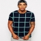 ASOS T-Shirt With All Over Check Print - T-Shirts