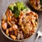 BBQ Chicken and Roasted Sweet Potato Bowls - Cooking