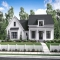Beautiful 1 Story 3 Bedroom Modern Farmhouse Plan - Country Farmhouse
