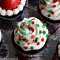 Black and White Peppermint Mocha Cupcakes