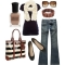 Brown and Black - Clothing, Shoes & Accessories